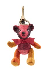 Burberry Shoes And Accessories Thomas Bear Cashmere Key Charm Multicolor