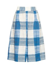 Ace And Jig Drifter Cotton Culottes Blue White