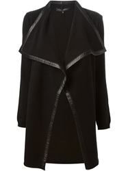 Ralph Lauren Black Label Ralph Lauren Black Wide Lapel Cardi Coat