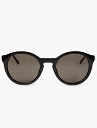 Thierry Lasry Black Acetate ''Zomby'' Sunglasses