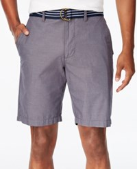 American Rag Men's Micro Stripe Shorts Only At Macy's Storm Cloud
