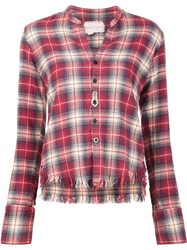 Greg Lauren 'Flannel Studio' Shirt Red