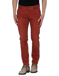 Nichol Judd Casual Pants Brick Red