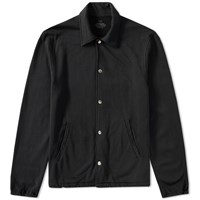 Save Khaki Fleece Warm Up Jacket Black