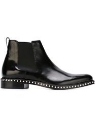 Givenchy Studded Chelsea Boots Black
