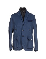 Dog Fox Suits And Jackets Blazers Men Blue