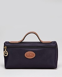 Longchamp Cosmetic Case Le Pliage Bilberry