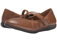 Softwalk Hollis Luggage Soft Tumbled Leather Women's Shoes Tan