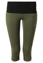 Gore Running Wear Air Tights Ivy Green Raven Brown Khaki