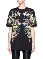 Givenchy Paradise Flower Print Jersey T Shirt Multi Colour
