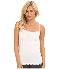 Jockey Tactel Lace Cami White Women's Underwear