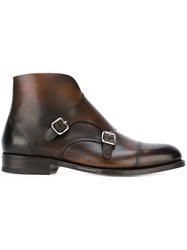 Dsquared2 'Missionary' Ankle Boots Brown
