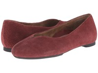 Aetrex Essence Camie Merlot Women's Flat Shoes Red