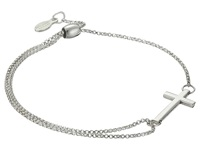 Alex And Ani Precious Ii Collection Cross Adjustable Bracelet Sterling Silver Finish Bracelet