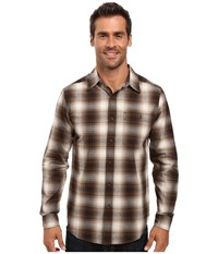 Royal Robbins Galen Cotton Long Sleeve Shirt Everglade Men's Long Sleeve Button Up Green
