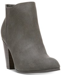 Fergalicious Punch Ankle Booties Women's Shoes Grey