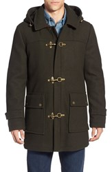 Men's Pendleton 'Knob Hill' Wool Blend Toggle Coat