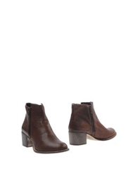 Boemos Ankle Boots Cocoa