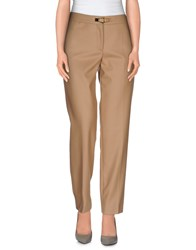 Salvatore Ferragamo Trousers Casual Trousers Women Camel