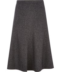 Cc Petite Tweed Riding Skirt Blue