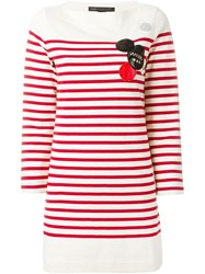 Marc By Marc Jacobs Breton Stripe Dress Red