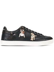 Dolce And Gabbana London Sneakers Blue
