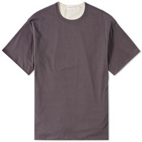 Tomorrowland Contrast Jersey Tee Grey