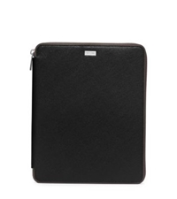 Michael Kors Saffiano Leather Tablet Case For Ipad Black