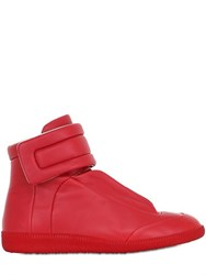 Maison Martin Margiela Future Soft Leather High Top Sneakers