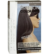 J.F.Lazartigue Colour Emulsion For Grey Hair In Black 60Ml