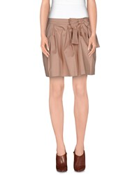Scee By Twin Set Skirts Mini Skirts Women Skin Color