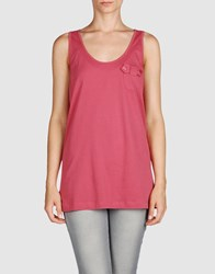 See By Chloe See By Chloe Topwear Sleeveless T Shirts Women Pastel Pink
