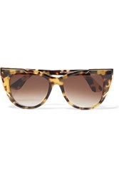 Thierry Lasry Butterscotchy Cat Eye Acetate And Metal Sunglasses