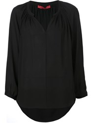 Tamara Mellon Loose Fit Blouse Black