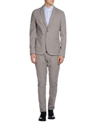 Paolo Pecora Suits Grey