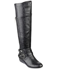 G By Guess Women's Gaines Tall Wedge Boots Women's Shoes