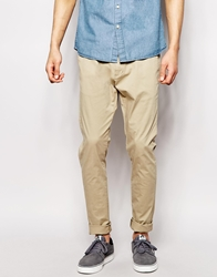 Dr. Denim Dr Denim Chinos Heywood Slim Tapered Fit Khaki Beige