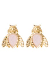Orelia Earrings Rose Goldcoloured