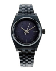 Nixon Timepieces Wrist Watches Women Slate Blue