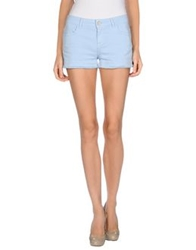 Jucca Denim Shorts Sky Blue