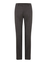 Howick Derry Pindot Suit Trouser Charcoal