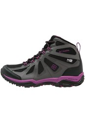 Columbia Peakfreak Xcrsn Ii Xcel Outdry Walking Boots Black Intense Violet