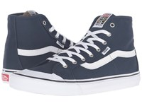 Vans Black Ball Hi Sf Dress Blues True White Men's Shoes