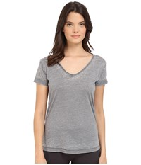 P.J. Salvage Burnout Jersey Tee Grey Women's Pajama Gray