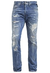 Replay Waitom Slim Fit Jeans Destroyed Denim