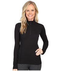 Arc'teryx Phase Ar Zip Neck Long Sleeve Black Women's Clothing