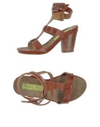 Materia Prima By Goffredo Fantini Sandals Brown