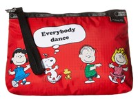 Le Sport Sac Essential Wristlet Fun With Friends Red Bags