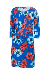 Indulgence Bodycon Floral Dress Multi Coloured
