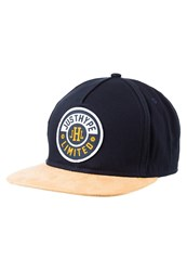 Hype Cap Navy Yellow Dark Blue